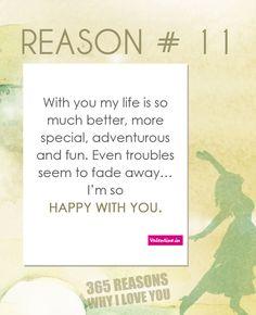 Reasons why I love you #11