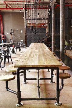 9. Truth Coffee Interior by Haldane Martin, Photo Micky Hoyle by HALDANE MARTIN, via Flickr