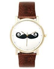 Reloj con bigote de Asos
