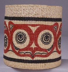 """""""In the Spirit of the Ancestors"""" - The Owl represents one of Jan Criswell's Haida crests."""