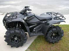 Honda Rancher,  this looks too pretty to take on a trail.