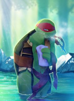 Tmnt 2012 rp (I'm raph and you can be whoever,or just yourself!) I'll start.