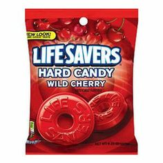 Lifesavers Wild Cherry | Candy Funhouse