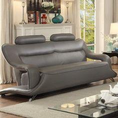 Wade Logan Trystan Modern Standard Sofa Upholstery: