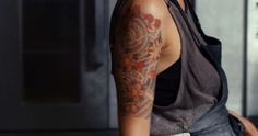 Stranger than Fiction/Ana Pascal's tattoo (love this; would love an almost-half sleeve like this one day)