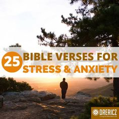 Spend time with these 25 Bible verses about stress, worry, and anxiety to help you. Read God& word to aid in your troubles. Scripture For Stress, Bible Verses About Stress, Bible Verses For Depression, Worry Bible Verses, Prayer Ministry, Stress Symptoms, Bible Study Tips, Bible Teachings, Stress And Anxiety
