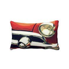 """1951 Ford"" 13x20 Lumbar Pillow #zazzle #pillow#classiccar Lyle Hatch"