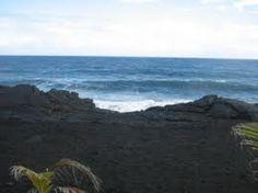 Where the sea and lava meet.
