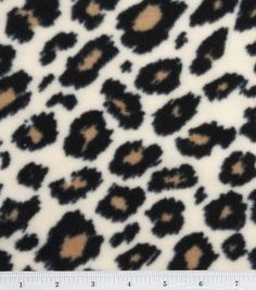 I want to make a blanket with this pattern!!  Anti Pill Fleece Fabric-Cheetah