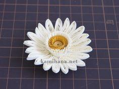 Paper Quilling -- 【ペーパークイリング】紙花用の台座の作り方