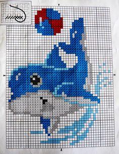 Cross Stitching, Cross Stitch Embroidery, Cross Stitch Landscape, Delphine, Cross Stitch Animals, Plastic Canvas Patterns, Le Point, Cross Stitch Charts, Bead Art