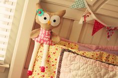 Hoot Owl Doll  18' tall Soft Plush. $21.00, via Etsy. Ooooh, Lili would love this.