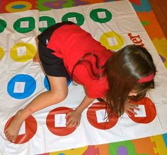 Sight Word Twister! Kids will not want to stop playing. It's an active, hilarious way to learn those sight words