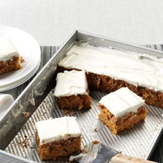 Mrs. Thompson's Carrot Cake Recipe from Taste of Home -- shared by Becky Wachob of Kelly, Wyoming