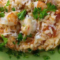 Coconut Shrimp Risotto Recipe appetizer, main-dish, dairy free, gluten free, low carb, New Year's, mothers' day, dinner, italian with 9 ingredients Recommended by 1 users.
