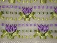 Resultado de imagen para bordados em fitas