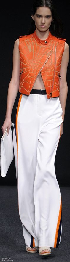 Byblos Milano Spring 2015 women fashion outfit clothing style apparel @roressclothes closet ideas