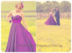 The color of that dress with the yellow flowers is stunning!
