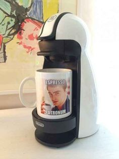 "And this amazing coffee cup. | 22 ""Harry Potter"" Puns That Are So Bad They're Good. This coffee mug. I want it."