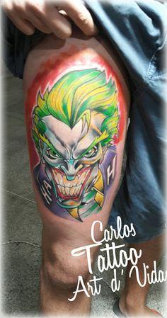 Feita por: tatuador Carlos Paranaguá