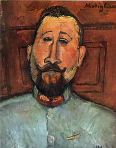 Doctor Devaraigne - Amedeo Modigliani, 1917
