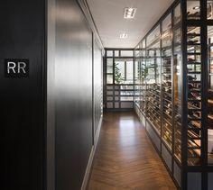 LEMAYMICHAUD | CIEL | Québec | Architecture | Design | Restaurant | Eatery | Hospitality | Bistro | Bar | Wine cellar Bistro, Architecture Design, Stairs, Restaurant, Bar, Home Decor, Wine Cellar, Architecture Layout, Stairway