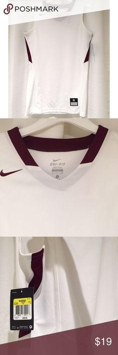 Nike Dri Fit Women s Maroon Basketball Jersey Brand new with tags e59f64162