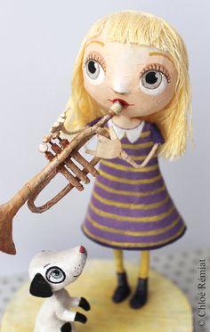 El trompetista original muñeca Suzie para Avenida por chloeremiat