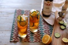 It's almost time for my favorite cocktail: the Pimm's Cup. Pimm's Cup Cocktail - Joy The Baker