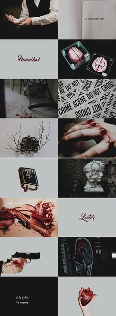 character aesthetic // hannibal lecter from hannibal (tv)
