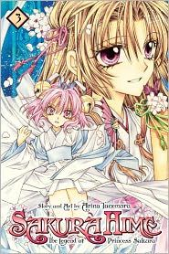 'Sakura Hime: The Legend of Princess Sakura, Vol. 3' by Arina Tanemura and Arina Tanemura ---- Reads R to L (Japanese Style).  Sakura is the granddaughter of a mysterious moon princess who slew demons with her Blood Cherry Blosso...