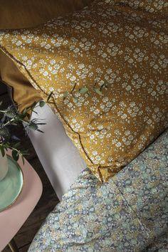 Liberty Print, Liberty Fabric, Home Bedroom, Bedroom Decor, Bedroom Signs, Decorating Bedrooms, Master Bedrooms, Bedroom Apartment, Bedroom Ideas