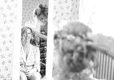 natural wedding makeup & soft updo | Image by Em J Photography