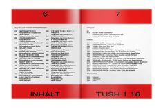 Internet Explorers: bureauborsche:   TUSH  ISSUE 1—16  IN YOUR FACE