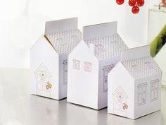 Si vous peinez à trouver des emballages pour vos cadeaux de Noël, nous vous proposons ici un modèle de maison à imprimer gratuitement !