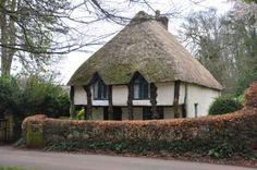 Thatched roof cottages are among the best features of the English countryside. Check out some truly ancient buildings that are still so quaint and homey. Irish Cottage, Cozy Cottage, Cottage Homes, Cottage Style, Cottage Gardens, Romantic Cottage, Storybook Homes, Storybook Cottage, Thatched House
