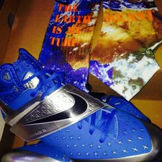 Custom Spats and Custom Nike elite socks