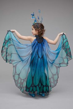 Blue Butterfly Costume for Girls: #Chasingfireflies $79.00$26.00$10.00$30.00