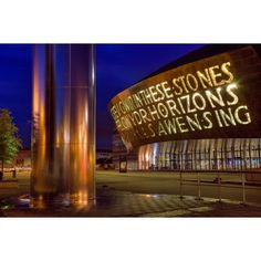 Cardiff in pictures one of National Geographic's top 10 summer... ❤ liked on Polyvore