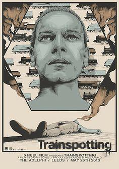 debutart:  Joe Wilson's Trainspotting Movie Poster