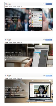 One Google – Single login to access all Google products. www.gmail.com