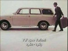 Classic VW 1500 Variant commercial.