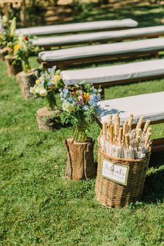 Photography: Matt Edge Wedding Photography - www.mattedgeweddings.com Ceremony Venue: Rustridge Ranch & Winery - www.rustridge.com   Read More on SMP: http://www.stylemepretty.com/2014/11/15/casual-st-helena-farm-to-table-wedding/