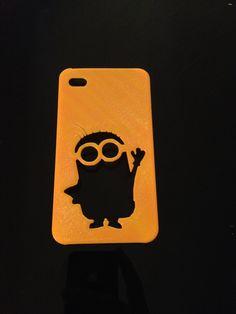 Iphone Case 4/4s and 5/5S Minion.  more infos:  www.compositesdesign.pt Facebook/ Composites&Design