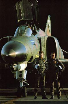American pilot for phantom F-4