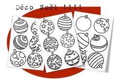 Décoration de Noël boule de gomme