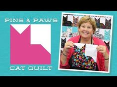 MSQC Tutorial - Pins and Paws Cat Quilt