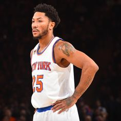 The  New York Knicks   announced  Tuesday they fined Derrick Rose an undisclosed amount after he no-showed their defeat to the  New Orleans Pelicans  on Monday night.     ESPN...