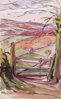 Beatrix Potter's watercolors