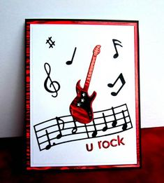 QFTD224, F4A235 U Rock by catluvr2 - Cards and Paper Crafts at Splitcoaststampers
